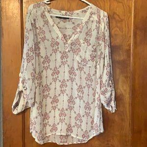 Maurices 2x sheer dress shirt